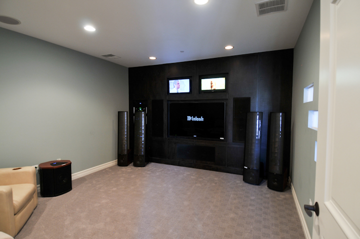 Media Room Audio Video Interiorsaudio Video Interiors